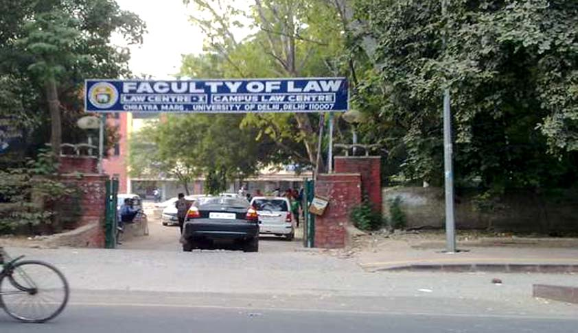 DU LLb entrance 2016, Delhi University Faculty of Law